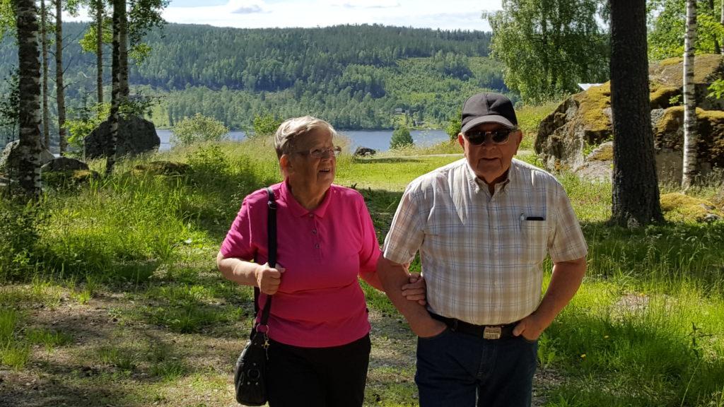Gunhild och Ingvar Lindgren